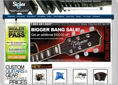 Sigler Music Home Page