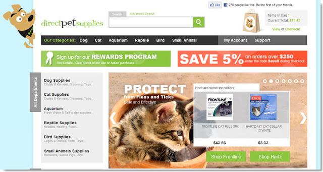Direct Pet Supplies Home