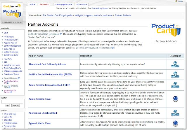 partner addons