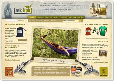 Trek Light Gear Home Page