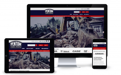 New Website Launch: Mini Excavator Parts
