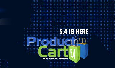 ProductCart 5.4 Release Brings New Features
